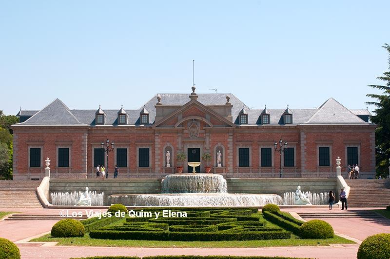 El Palacio Real en el Parc de Joan Maragall