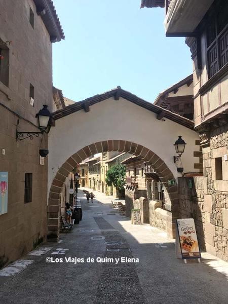 Calle Principe Viana del Poble Espanyol