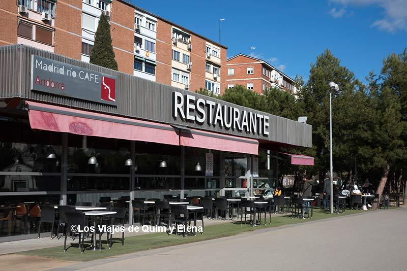 Restaurante en Madrid Río
