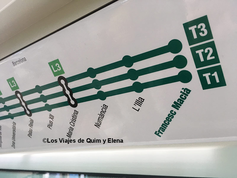 Líneas del Tranvía