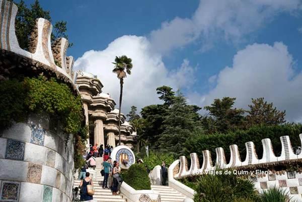 Park Güell, jardines más bonitos de Cataluña