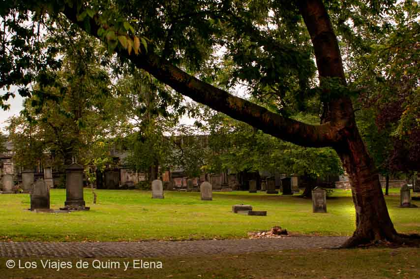 Cementerio Kirk of the Greyfriars