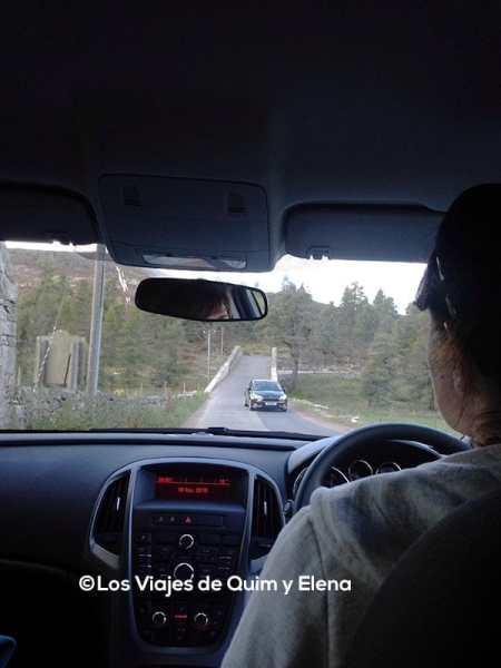 Ruta en coche por Escocia
