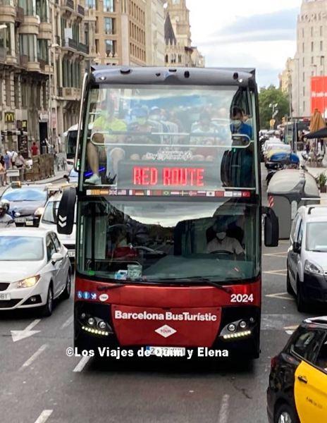 Autobús de la Rura Roja del Bus Turístic