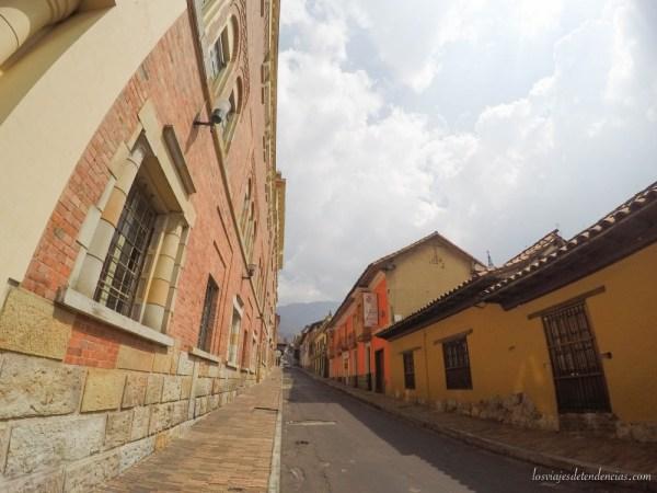 El barrio de la Candelaria de Bogotá