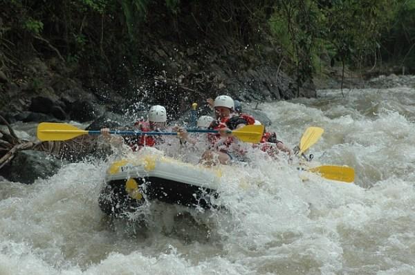 Los 10 mejores lugares para el rafting