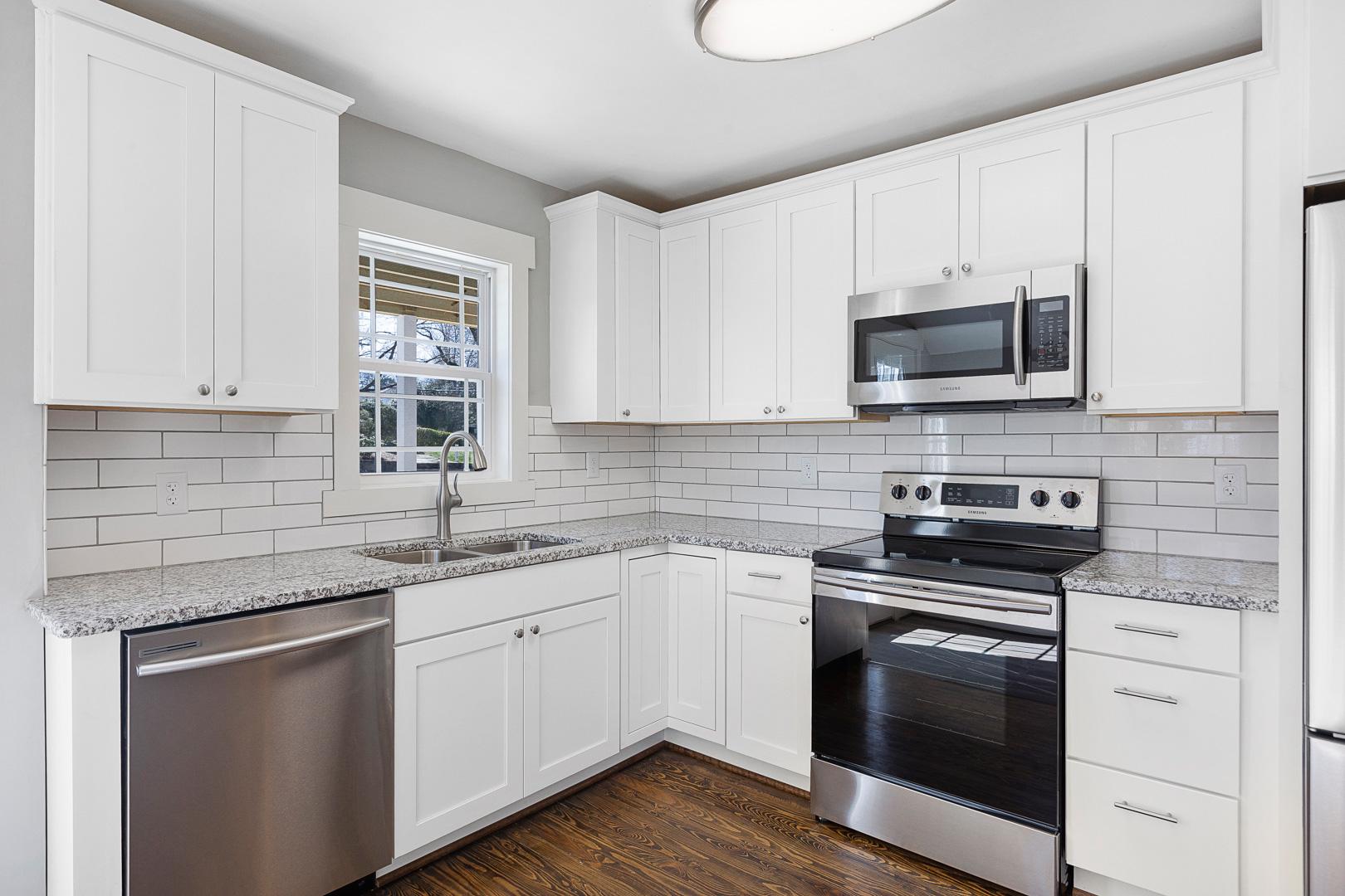 Updated kitchen in Ardmore, Winston-Salem