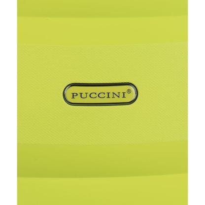 Walizka średnia Puccini Acapulco limonka