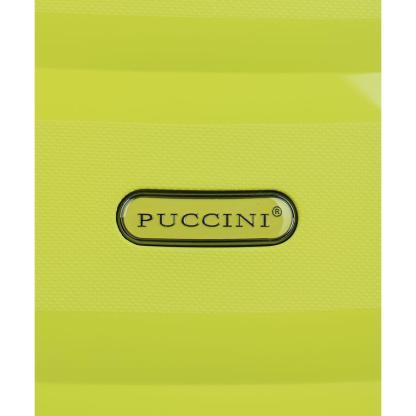 Walizka kabinowa Puccini Acapulco limonka
