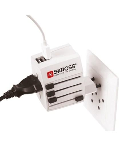 Adapter podróżny Skross MUV USB