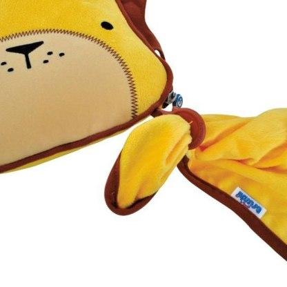Kocyk i poduszeczka Trunki lew