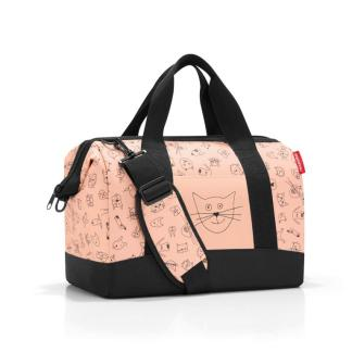 Torba Reisenthel Cats and Dogs rose 18 l