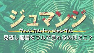 ジュマンジ/ウェルカムトゥジャングル見逃し配信