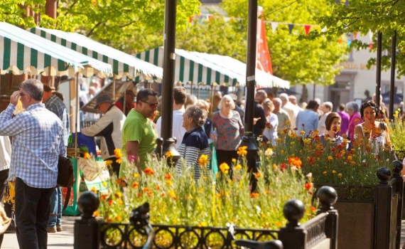 Visit a reinvigorated Haddington Farmers' Market
