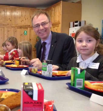 One year of free school meals