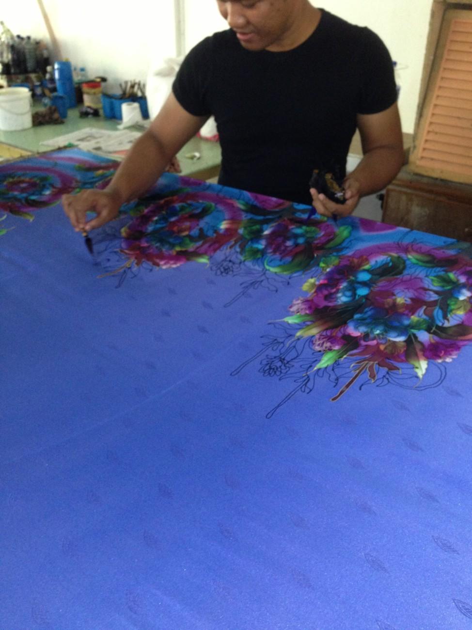 Batik or Tie Dye  Lotis Lens