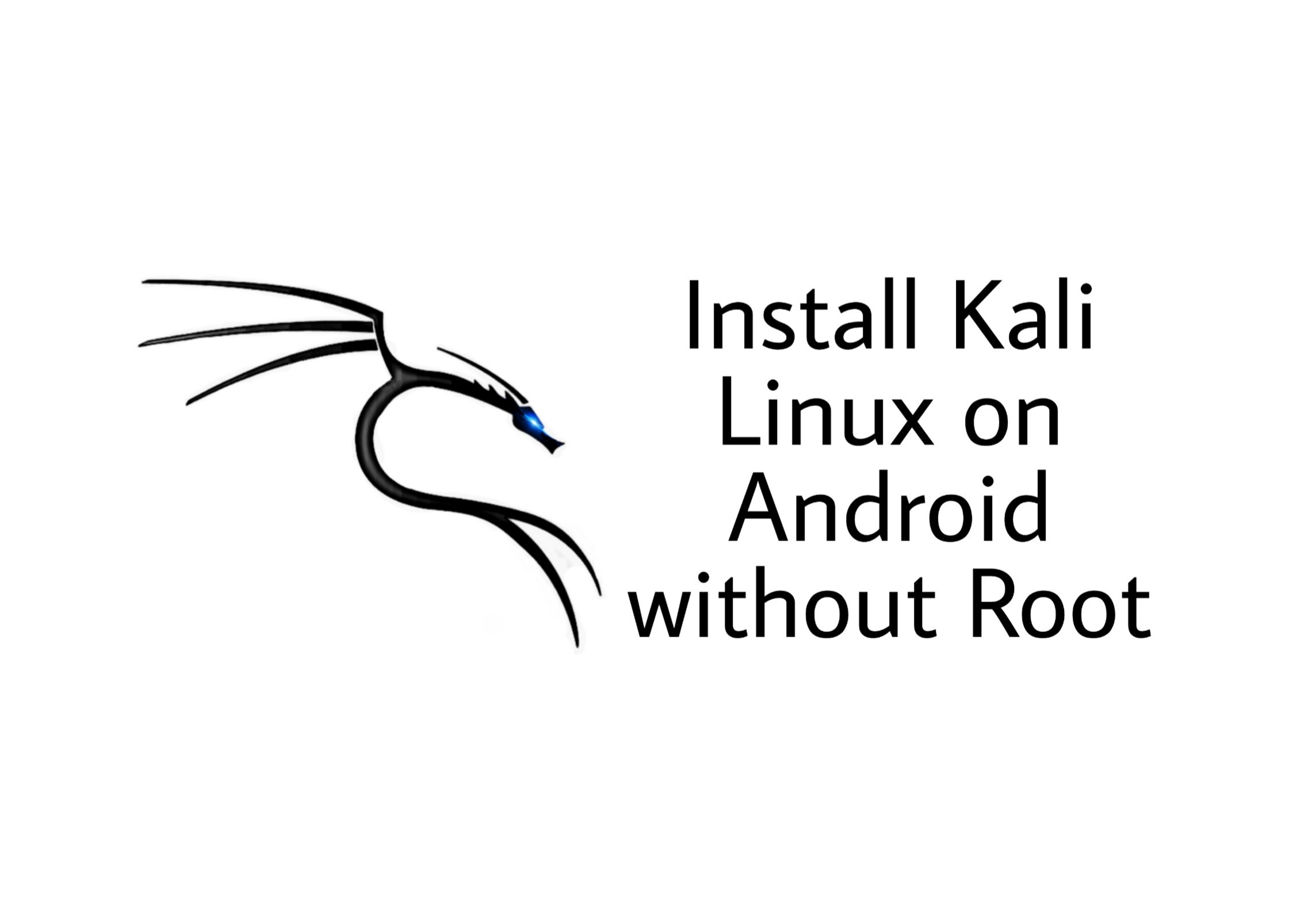 Install kali linux on android without root