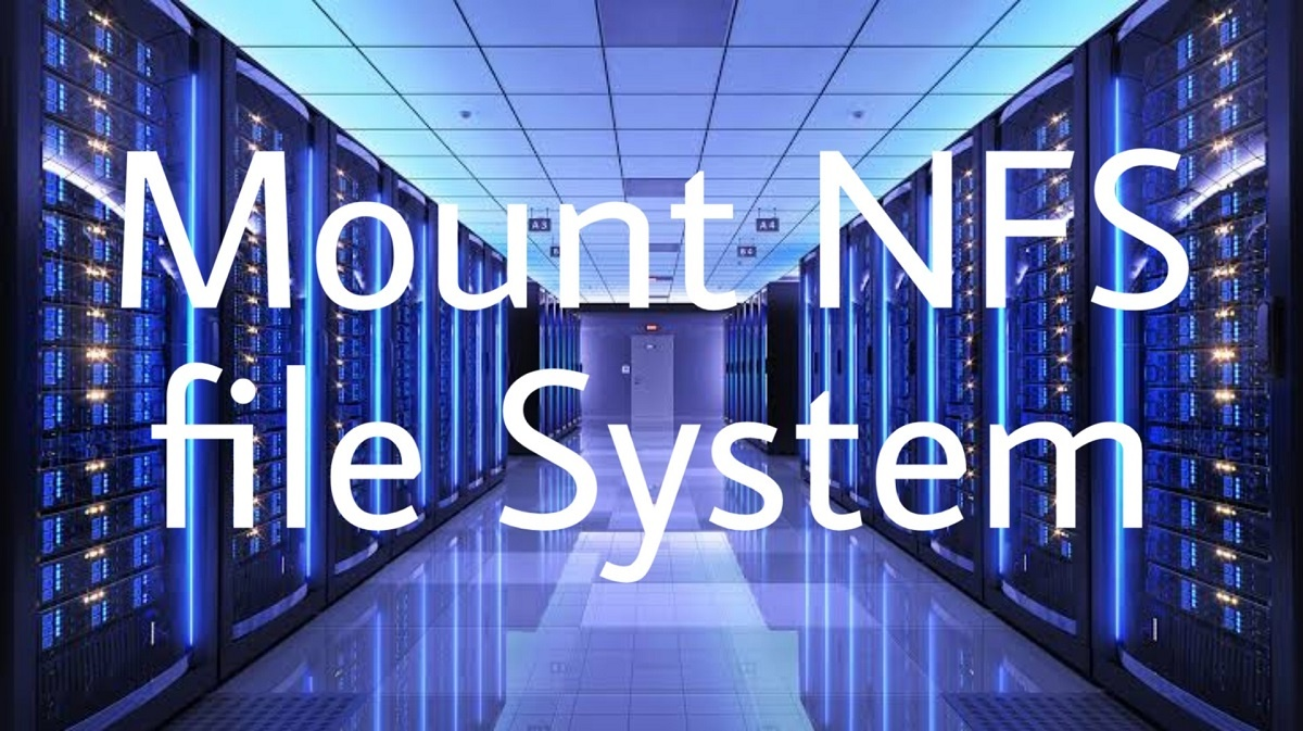 How to mount NFS file system