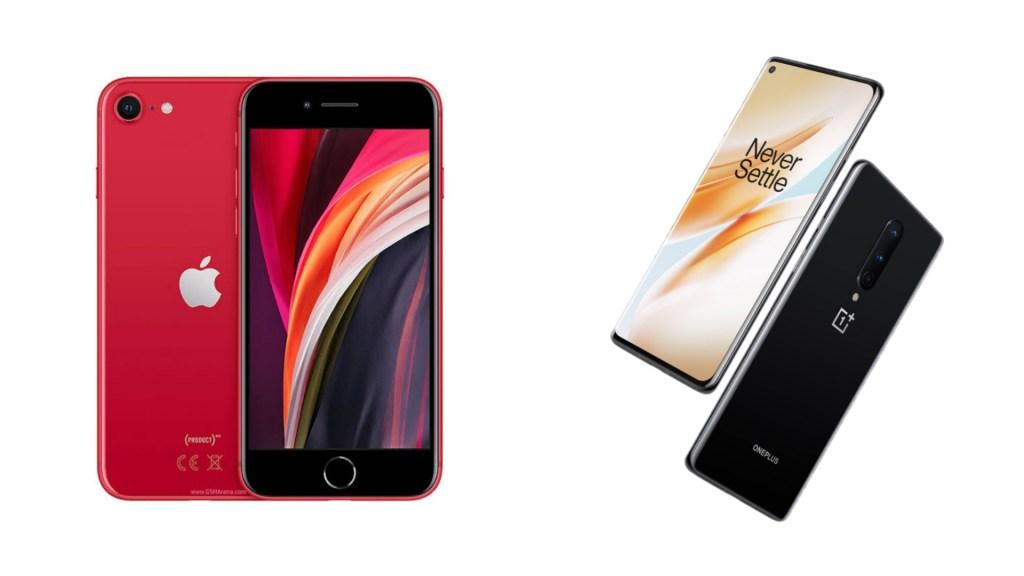 iPhone SE vs OnePlus 8