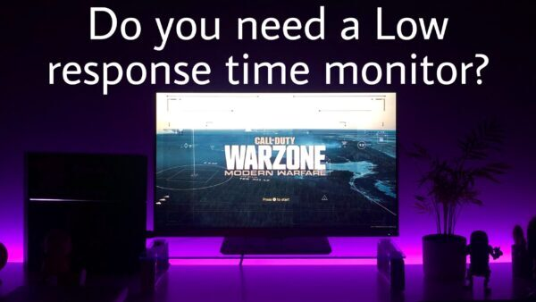 Do you need a low response time in a gaming monitor