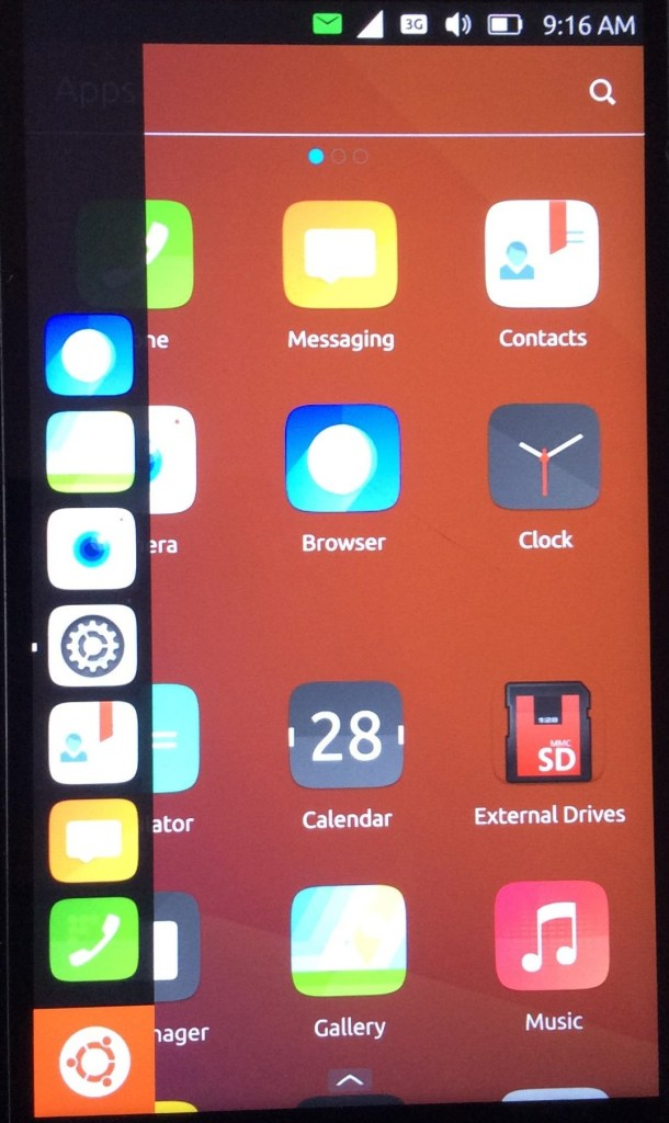 Ubuntu touch to install Linux on a smartphone