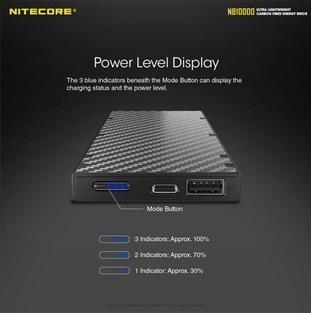 Nitecore NB10000 ultra lightweight power brick