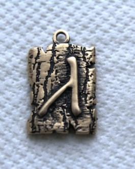 СР 003 Алатырь руна бронза