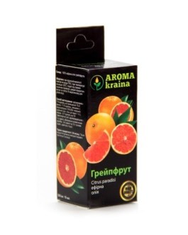 Грейпфрут 10мл эфирное масло Арома краина