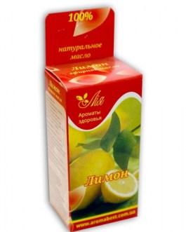 Лимон 10 мл эфирное масло Ароматы здоровья