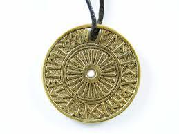 А 058  Рунический круг Футарк