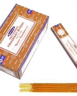 Nag Champa Fragrant Myrrh Satya 15g