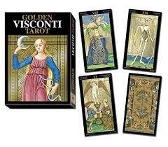 Golden Visconti Tarot – Gran Trumps (gold foil) /Lo Scarabeo/