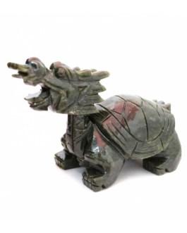Драконья черепаха нефрит 12*6,5*5,5см. 0300