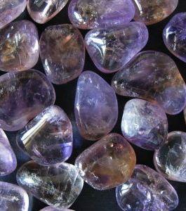 Аметрин камень галтовка 25грн за 1г