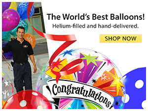 The World's Best Balloons Delivered!