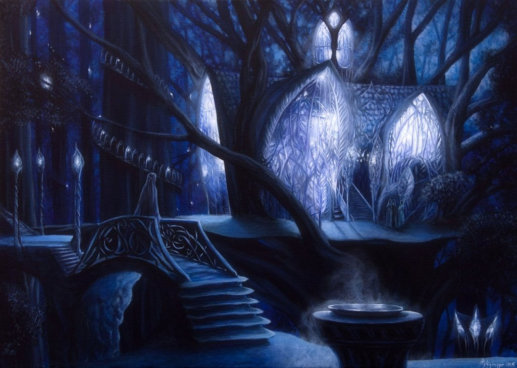 Fall Witch Wallpaper Lothlorien Audio Atmosphere