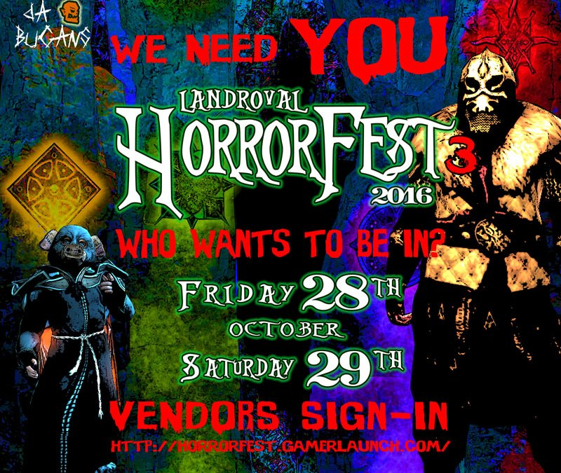 Horrorfest III – Bride of Buganstein : VENDORS SIGN-IN