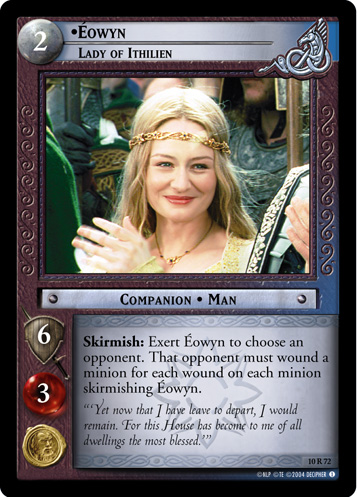 LotR TCG Wiki Eowyn Lady Of Ithilien 10R72