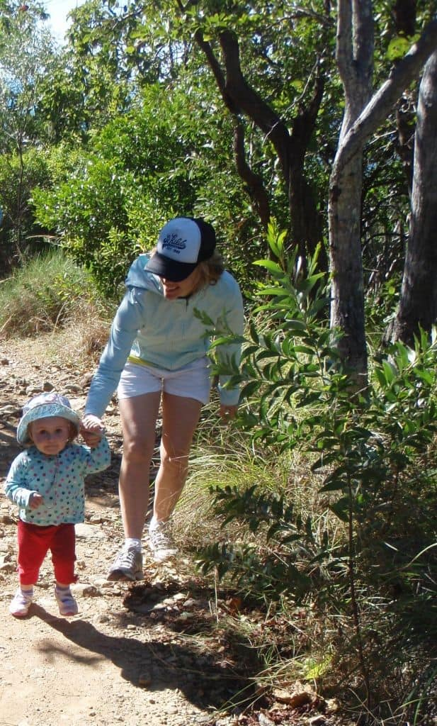 Hiking with Kids Tip: Let them walk - it takes patience but reaps rewards [Pic: Linda Anderson]