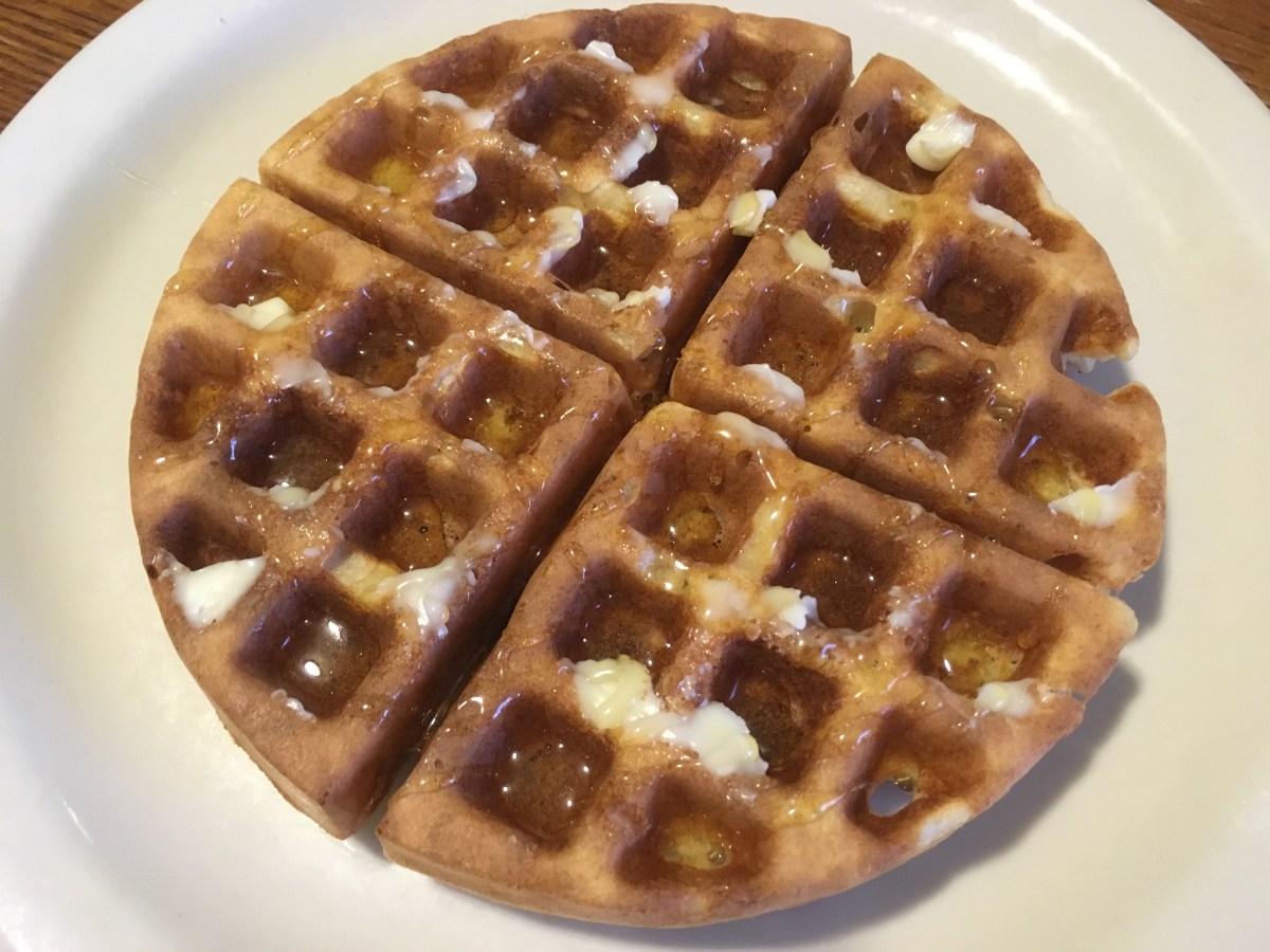 Whey Oat Waffles