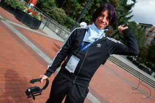 Aaron Shade as Yato from Noragami