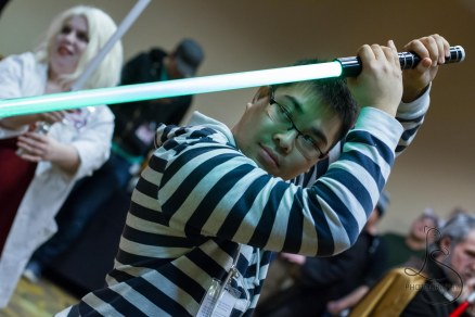 Light Saber Training