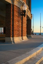The tip of Navy Pier in Chicago at sunrise | LotsaSmiles Photography
