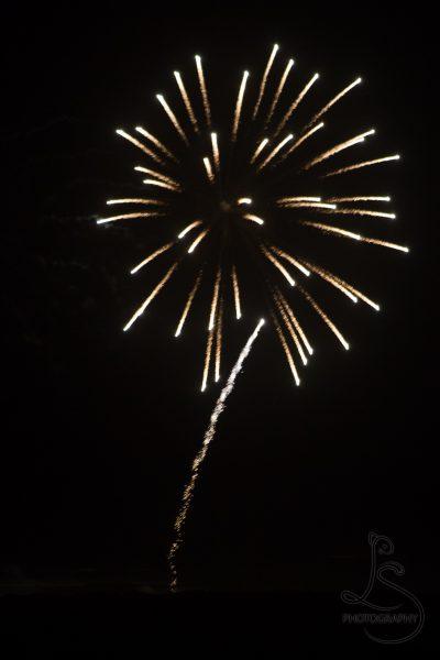 Yellow fireworks | LotsaSmiles Photography