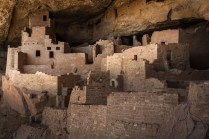 The ancient Puebloan cliff dwellings