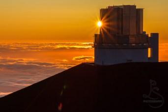 Mauna Kea Sun