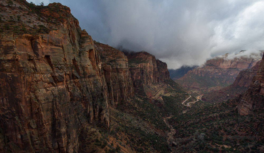 Photostory: Zion's Canyon Overlook