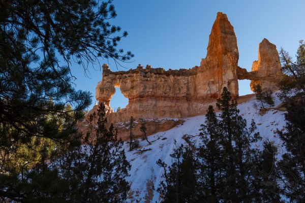 Tower Bridge, backlit, in Bryce Canyon | LotsaSmiles Photography