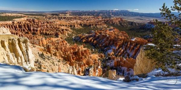 A snow-edged Bryce Canyon | LotsaSmiles Photography