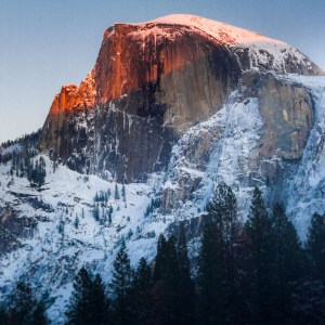 Half Dome Glow - LotsaSmiles Photography